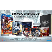 King Of Fighters Xiv 14 Ps4 Pre-orden Premium Blakhelmet Sp