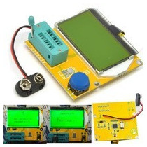 Medidor Esr Probador De Capacitores Inductores Transistores
