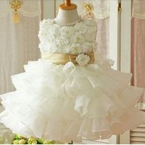 Vestidos De Gala Para Niñas Desde 7 Meses Envio Gratis