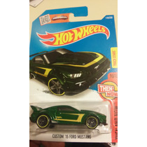 Hot Wheels De Coleccion 2016 Custom Ford Mustang 2015