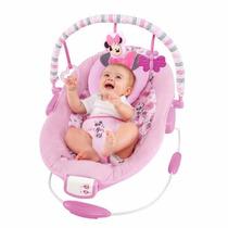 Silla Mecedora Infantil Con Juguetes Disney Minnie