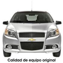 Kit Completo Faros De Niebla Para Chevrolet Aveo 2013 Y 2014