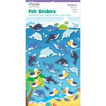Felt Craft Parachoques - Dolphins Stickers Fiesta Crafts
