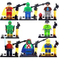 Set Young Justice 2 Jovenes Justicieros Compatibles Con Lego