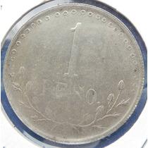 Moneda Mexico Revolucion H Del Parral $1 Peso 1913 Plata Or