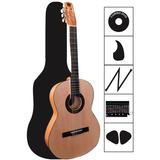 Guitarra Acústica Paquete Completo Hecho En Paracho México