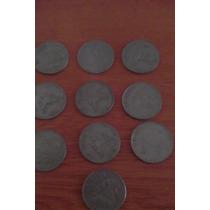 Monedas Antiguas De Un Peso De Diferentes Años