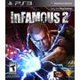 Videojuego Playstation 3 Infamous 2 Nuevo Y Sellado