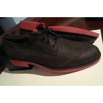 Zapatos Piel Nobuk Wolverine 1883 7 Mex 9 Usa Envio Gratis
