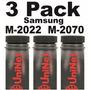 Recarga 3pack Samsung M2022 M2070 Mlt-d111s