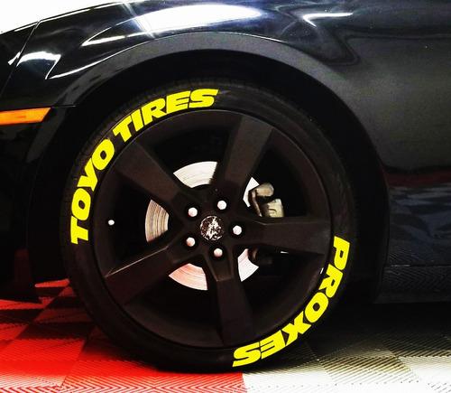 1d99a6e4d1cd Letras Para Llantas Hechas De Caucho Toyo Tires Proxes en venta en ...