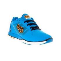 Tenis Fox Racing Motion Evo Azul Naranja Mtb Downhill