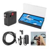 Sistema Aerografia Aerografo + Compresor Kit Calidad