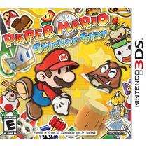 Paper Mario Sticker Star - 3ds - Nuevo Sellado Envío Gratis