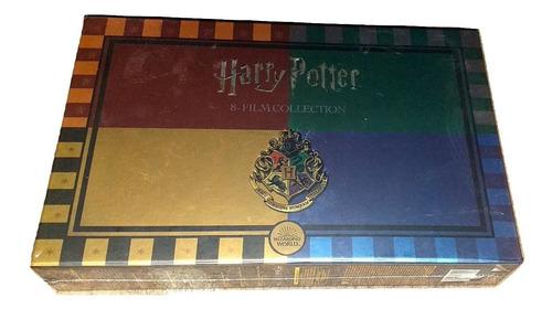 Paquete Harry Potter Boxset Edición Limitada (1-8) Bluray