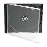 Estuches Para Cdr Jewel Box Caja Case Cd Standard  50 Pzas