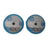 Cd Hp Imprimible Original 52x 700mb 80m C/50 Facturado Full