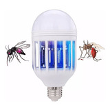 Foco Led 12 Wtts  Repelente Para Mosquito Luz Ultravioleta