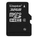 Tarjeta De Memoria Kingston Sdc4 Con Adaptador Sd 32gb