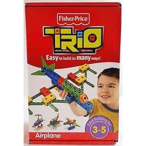 Trio Airplane Mega Bloks Aeroplano 32 Pza
