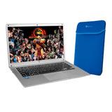 Laptop Vorago Alpha Celeron N3350 4gb 64gb Ssd 500gb + Funda