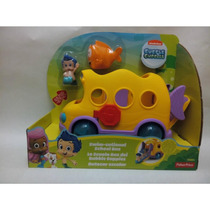 Camion Nuevo Bubble Guppies Camioncito Escolar Amarillo