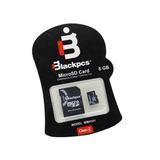 Memoria Micro Sdhc 8gb Class 4, Adaptador Sd Black Pcs