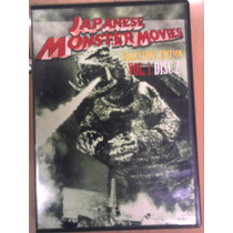 Dvd Doble Kaiju Godzilla Gamera Monstruo Gigante Ultraman