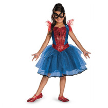 Disfraz Disguise Marvel Spider-girl Tutu Prestige Girls Cost