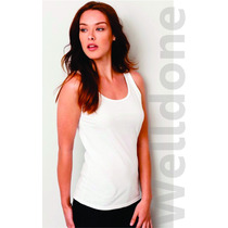 Blusa Dama Tank Top Playera Sublimable Welldone México