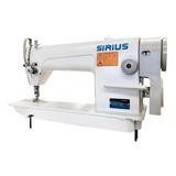 Máquina De Coser Industrial Sirius Sr8700 Gris 110v