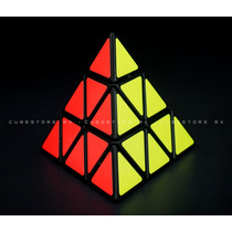 Cubo Shengshou Pyraminx Negro Envio Express 69 Pesos!