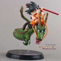 Dragon Ball Z Super Saiyan Goku Con Dragon 14 Cm