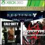 Xbox 360 Destiny The Taken King, Cod Saga Mw, Prototyepe 1y2