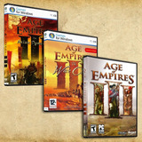 Age Of Empires 1 Ed Oro + 2 Hd + 3 Hd + Mythology + Obsequio