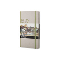 Libro Bolles Wilson Pasta Dura Gris Moleskine