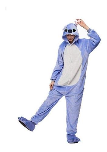 Pijama Mameluco Disfraz Cosplay Stitch Adulto Envío Gratis