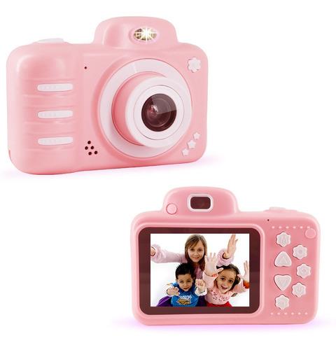 Cámara Digital Video Niño Niña 32gb Tarjeta Dual Lente 1080p