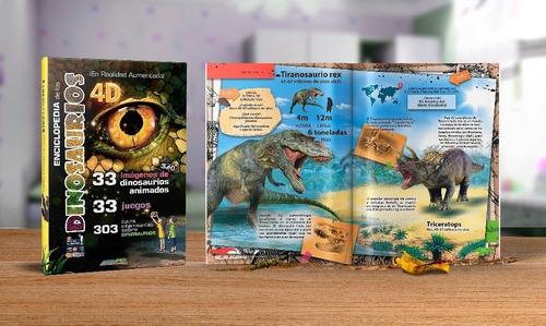 Pack Enciclopedia De Los Dinosaurios Y Pais De Las Hadas 4d