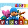 Pocoyo Kit Imprimible Pocoyo Editable Candybar Invitaciones