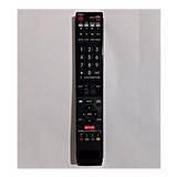 Control Sharp Smartv Sharp Aquos Netflix Lc52c6400u Lc52le64