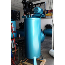 Compresor Rogers 430 Litros Vertical 5 Hp. Trifasico