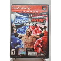 Wwe Smackdown Vs. Raw 2007 Playstation 2 Ps2