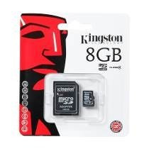 Memoria Sd Kingston 8 Giga Clase 4