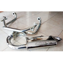 Headers Competencia Fat Boy Cromado Vocho Carburado Miller