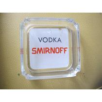 Cenicero De Vidrio Vodka Smirnoff Coleccionable