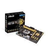 Mother Board Asus H81m-plus  Socket 1150 Ddr3 Hdmi Dvi
