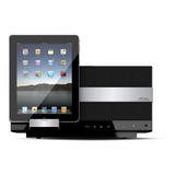 Bocina Base Dock iPhone Subwoofer Touch Aux Amethyst Tx1
