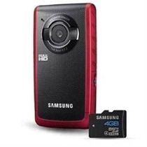 Samsung W190 5.5mp Hd De Bolsillo Videocámara Red