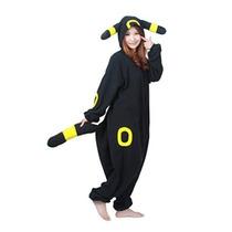 Disfraces Negro Pokemon Pikachu Umbreon Kigurumi-adulto De H